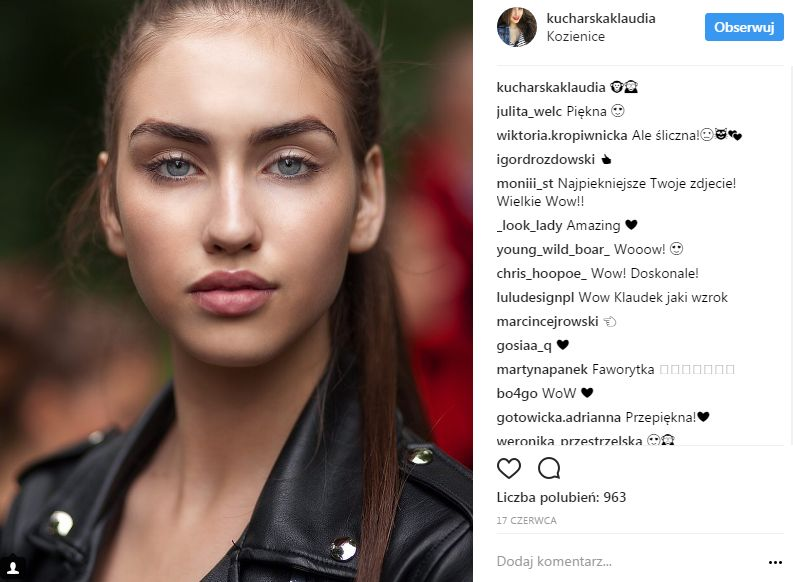 Klaudia Kucharska, nowa Miss Nastolatek 2017