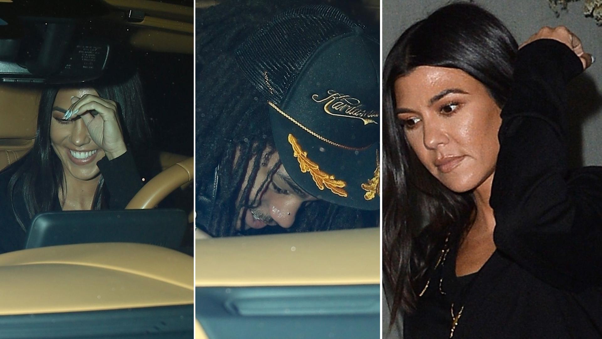 Romans Kourtney Kardashian z 20-letnim Luką trwa! Robi się GORĄCO (ZDJECIA)