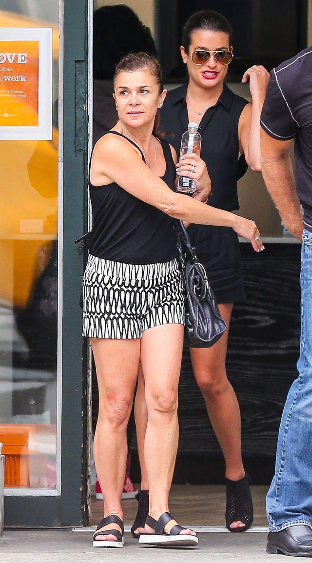 Lea Michele z mamą na zakupach