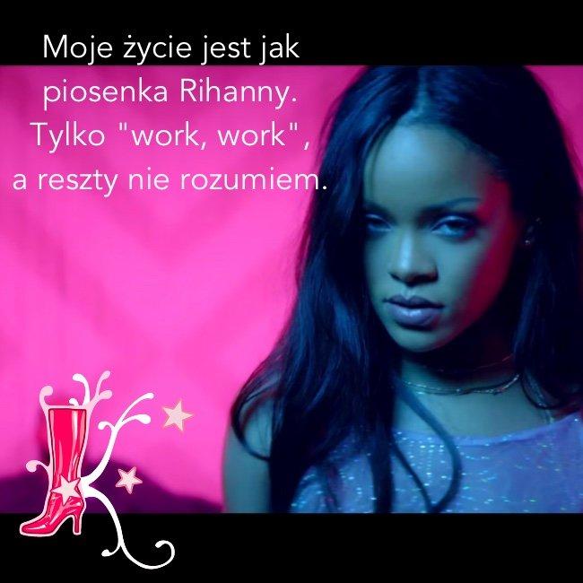 "Rihanna podbija świat piosenką ""Work"""