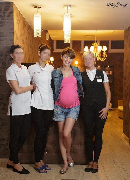 Dorota Gardias w ósmym miesiącu ciąży (FOTO)