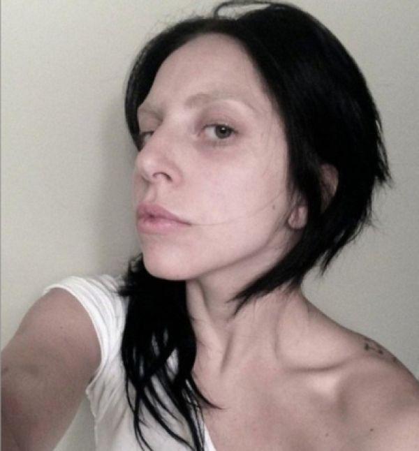 Tak wygląda Lady Gaga bez makijażu (FOTO)