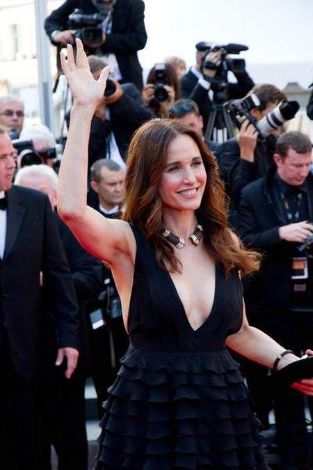 Andie MacDowell w Cannes