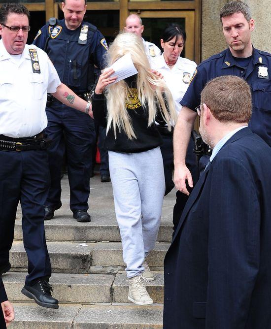 Amanda Bynes wychodzi z aresztu