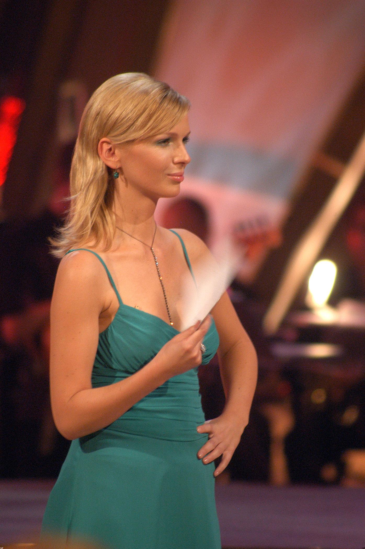 Magda Mołek na starych zdjęciach