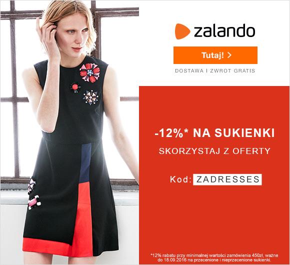 Sukienki w niższych cenach – tylko na Zalando