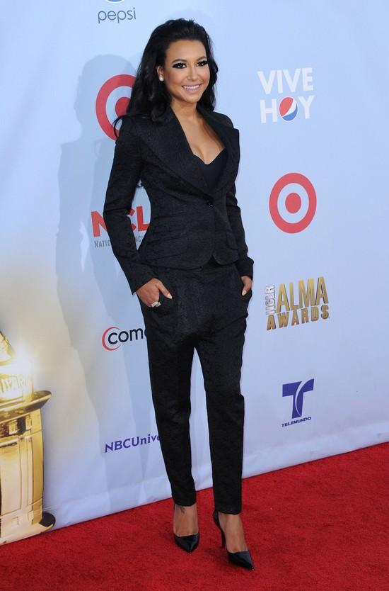 Naya Rivera lubi wyglądać jak kocica