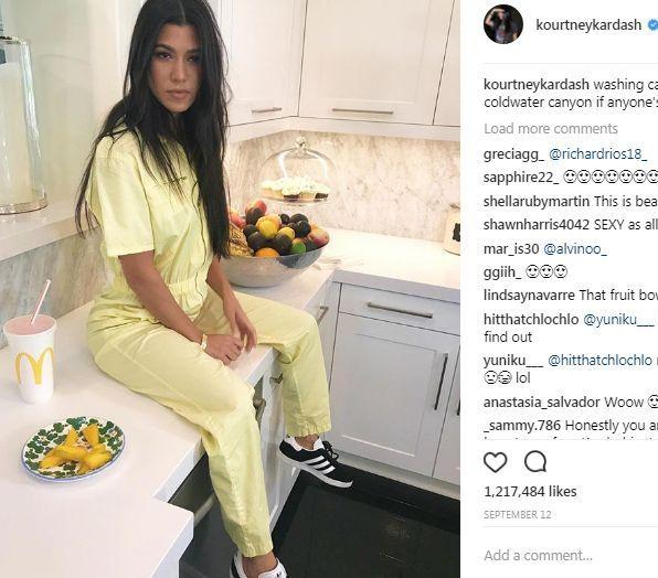 Sofia Richie została brunetką (Instagram)
