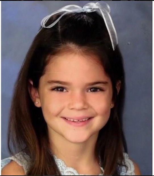 Kendall Jenner jako dziecko