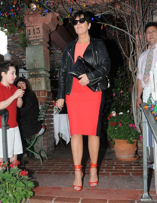 Kim Kardadhian na lunchu z rodziną