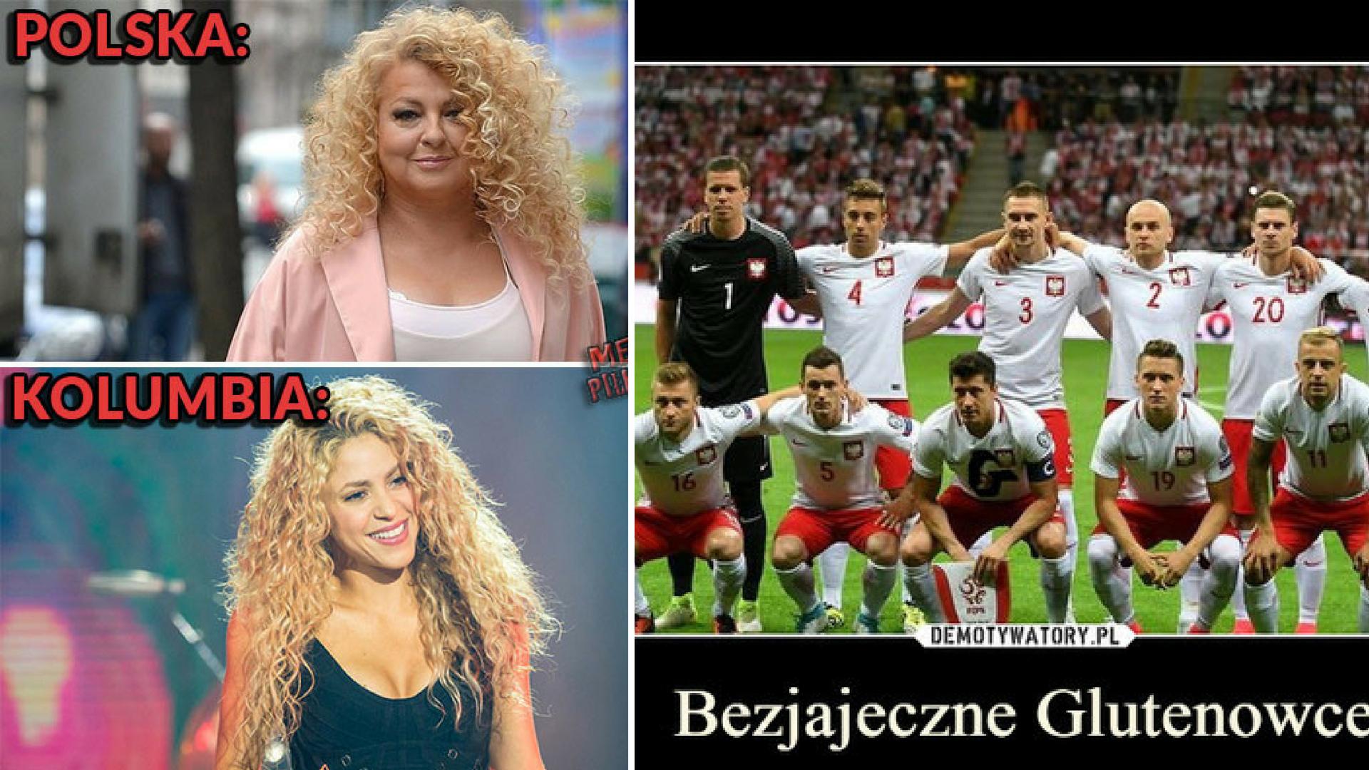 Memy po meczu Polska – Kolumbia