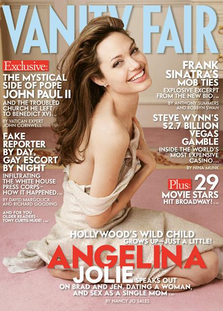 Angelina Jolie na okładce Vanity Fair.