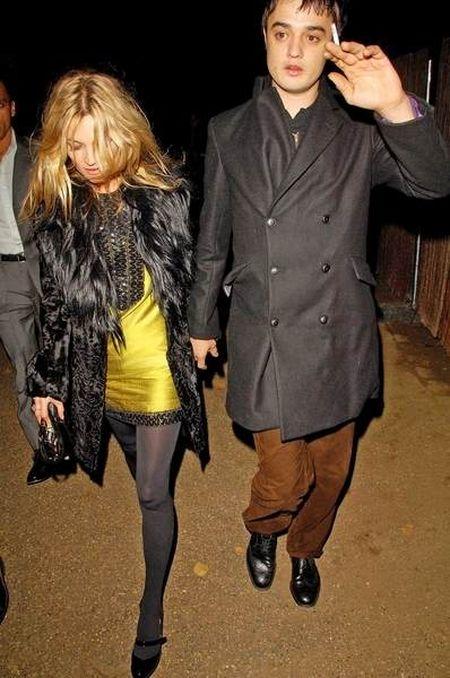 Kate Moss i Pete Doherty