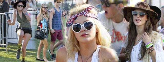 Gwiazdy na festiwalu Coachella (FOTO)