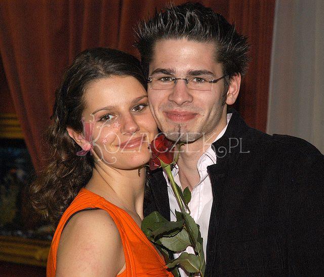 W 2005 roku, ze swoją ówczesną dziewczyną, Zosią Zborowską.