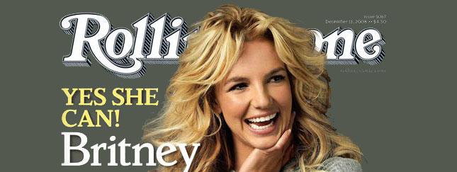 Britney Spears w magazynie Rolling Stone (FOTO)