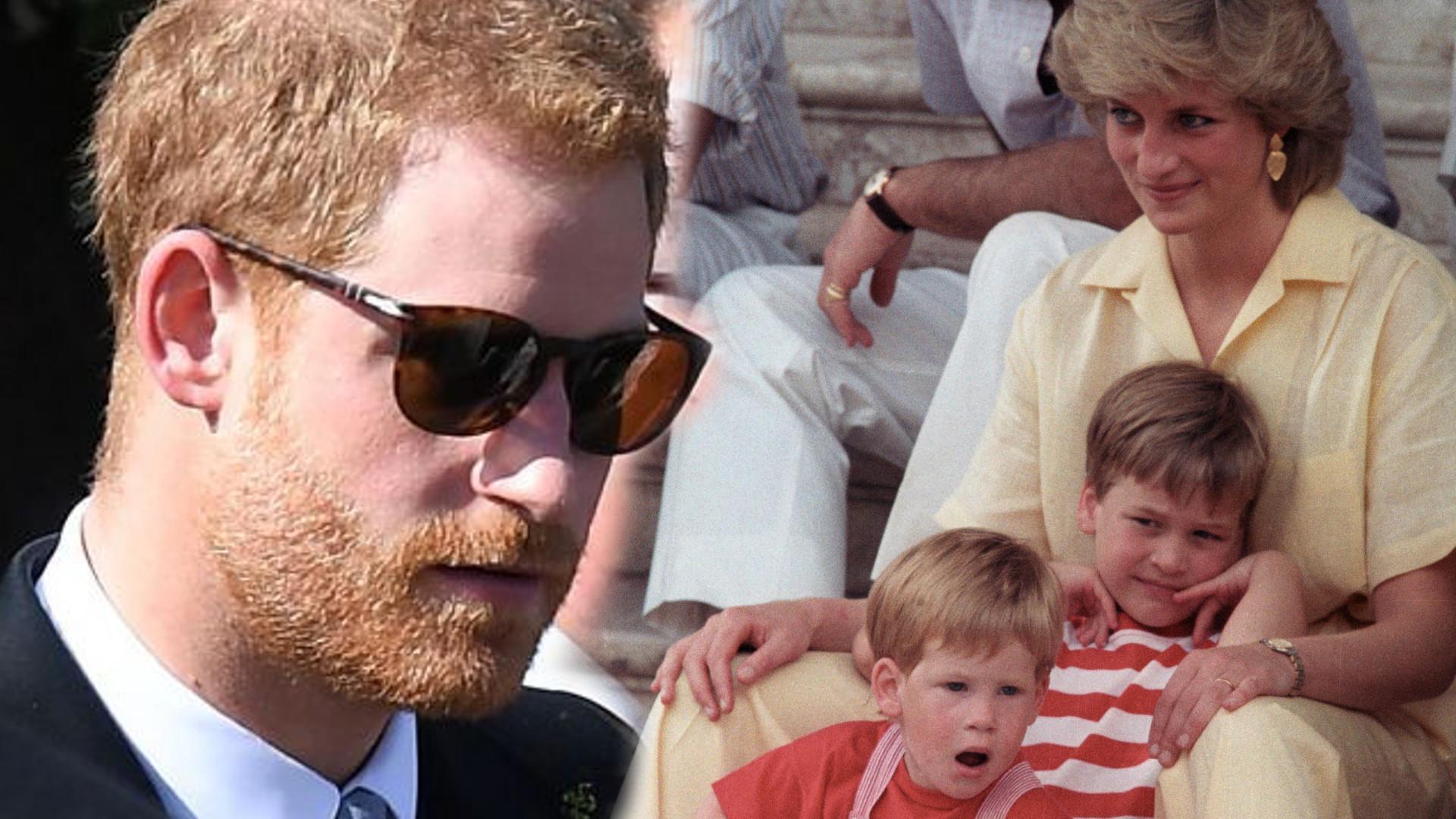 Książę Harry wiedział, że jego matka umrze?! Wyszło na JAW szokujące wspomnienie z dzieciństwa