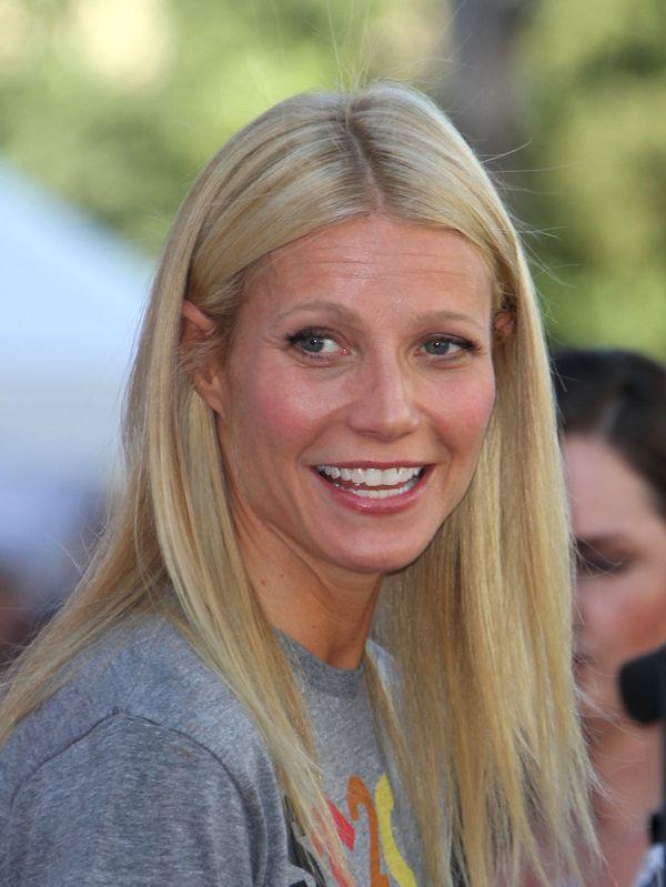 Gwyneth Paltrow, proste włosy