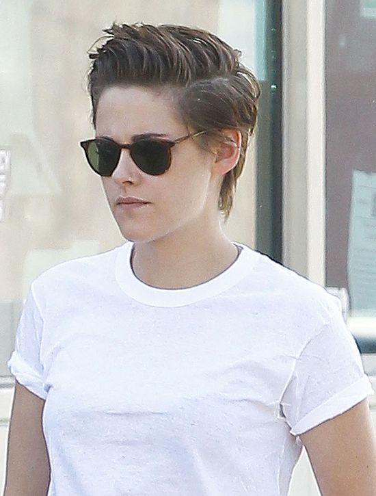 Kristen Stewart, krótkie włosy