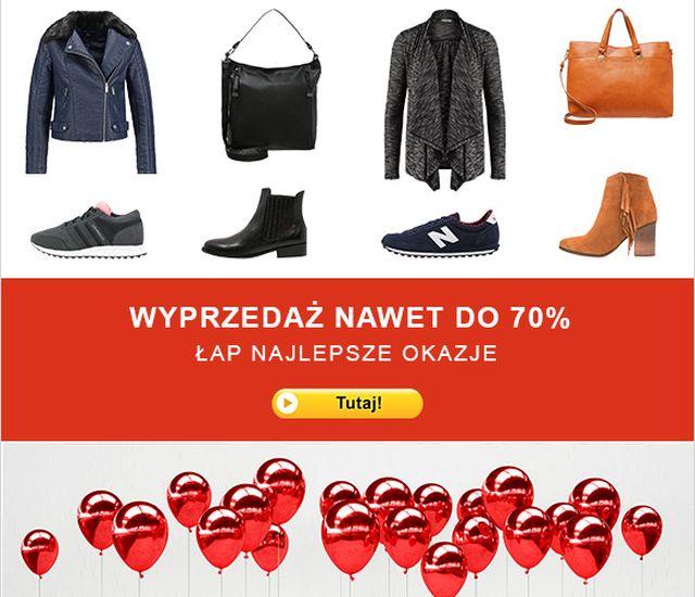 W Zalando wyprzedaż nawet do 70%!