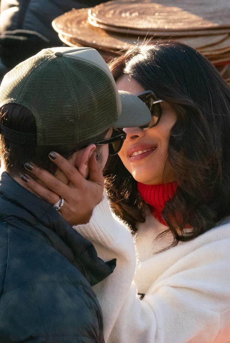 Nick Jonas i Priyanka Chopra wyjechali do Szwajcarii. Miłość kwitnie