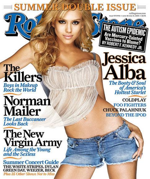 Jessica Alba na okładce Rolling Stone