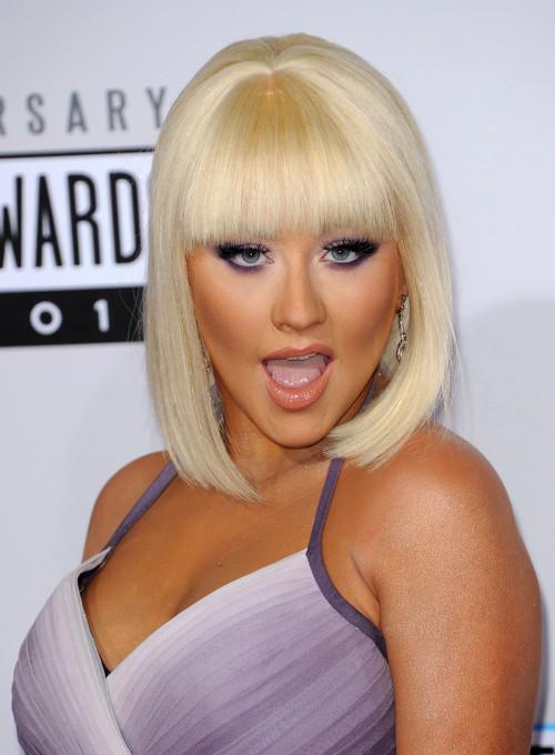 Christina Aguilera, platynowy blond