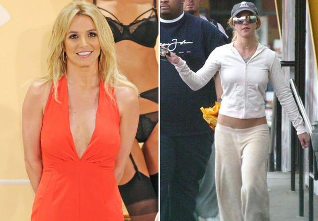 Britney Spears w 2014 i 2005