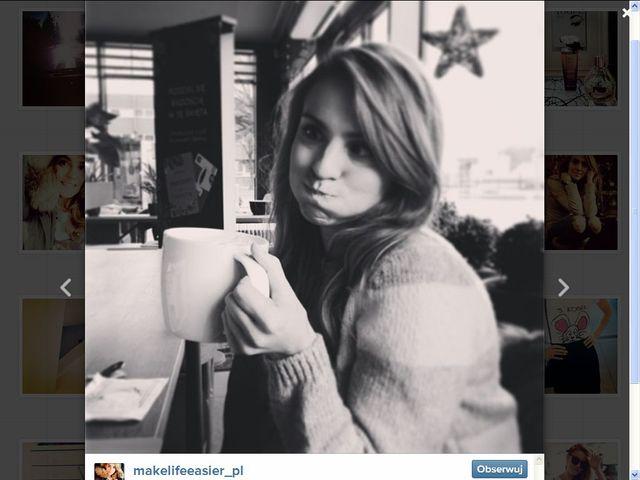 Kasia Tusk na Instagramie