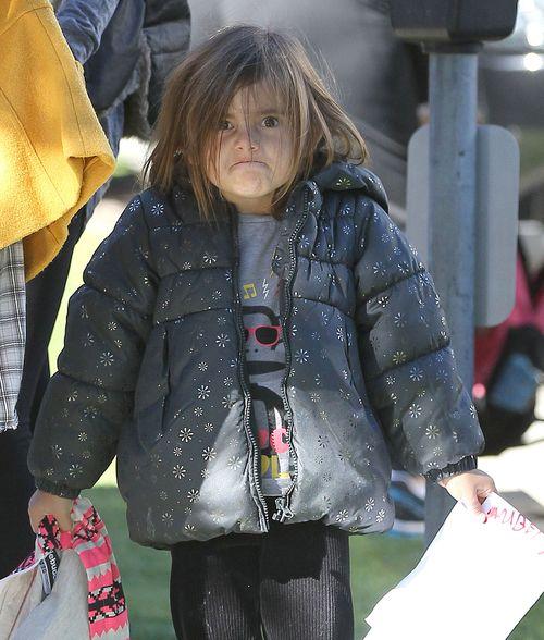 Córka sławnej modelki chyba nie lubi paparazzi (FOTO)