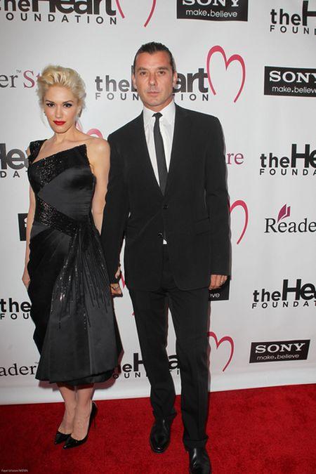 Gwen Stefani i Gavin Rossdale mają się całkiem nieźle (FOTO)