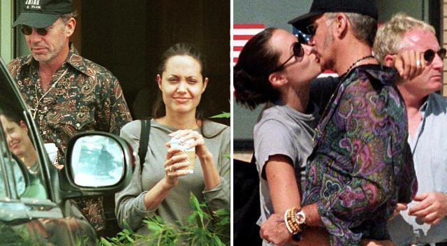 Ależ była zakochana! Angelina Jolie z Billy Bobem Thorntonem