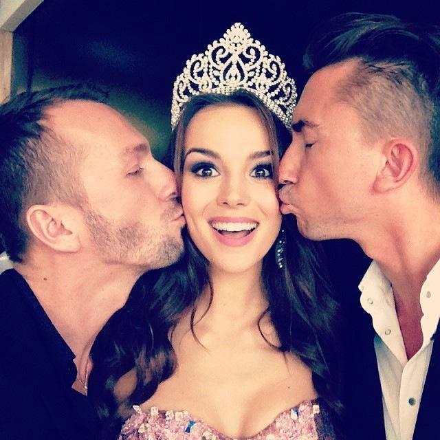 Paulina Krupińska na konkursie Miss Universe – Moskwa 2013