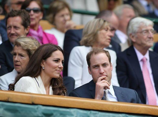 Księżna Catherine na kortach Wimbledonu