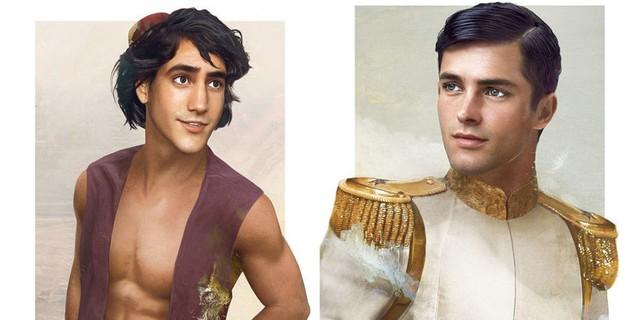 Jak wyglądaliby książęta Disneya, gdyby żyli naprawdę?