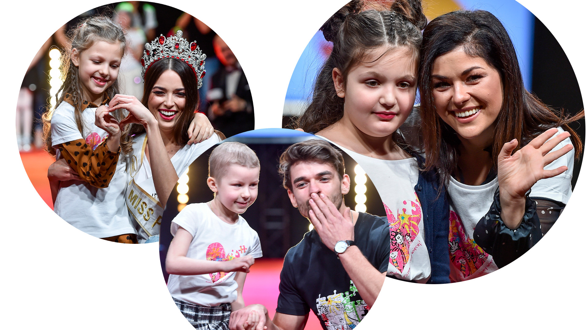 Manowska, Buława, Zarzycki na specjalnym pokazie mody Dzieci Dzieciom