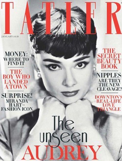 Okładki z Audrey Hepburn