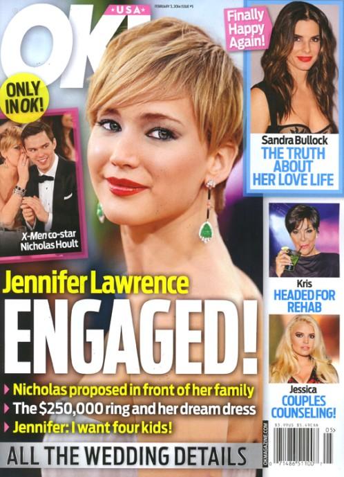 Jennifer Lawrence i Nicholas Hoult zaręczyli się?