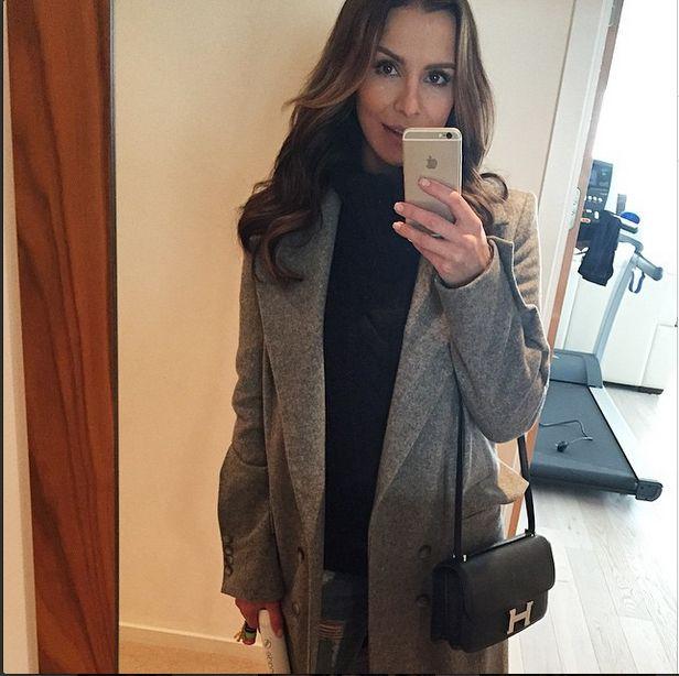 Selfie Sary Boruc na Instagramie
