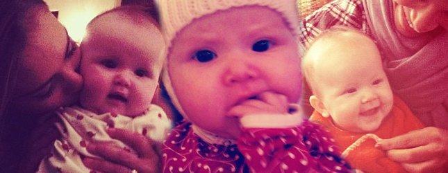 Jessica Alba z córeczką (FOTO)