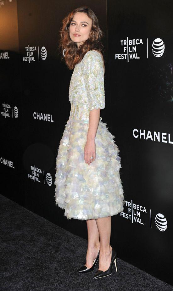 Keira Knightley w sukni Chanel, 2014 rok