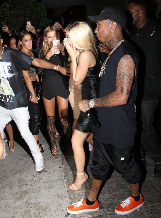 Kylie Jenner i Tyga na 18 urodzinach dziewczyny