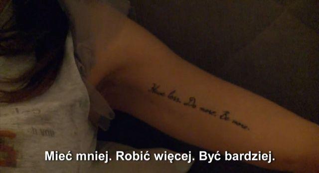 Tatuaż Natalii Siwiec