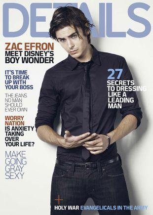 Zac Efron w magazynie Details