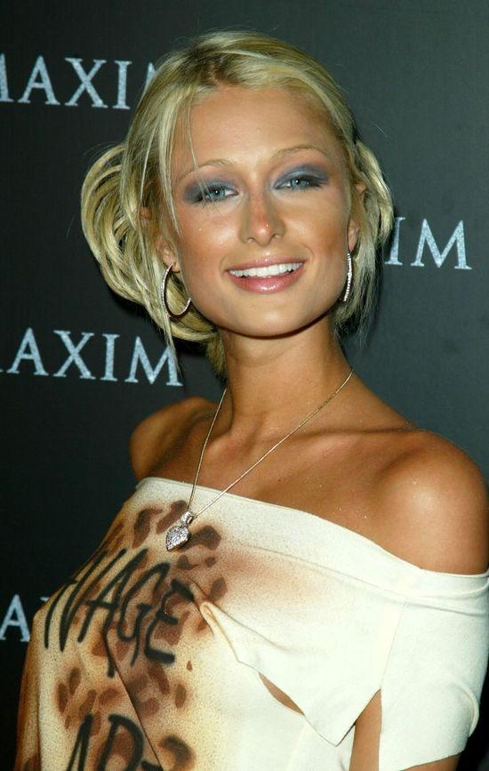 Stare zdjęcia Paris Hilton
