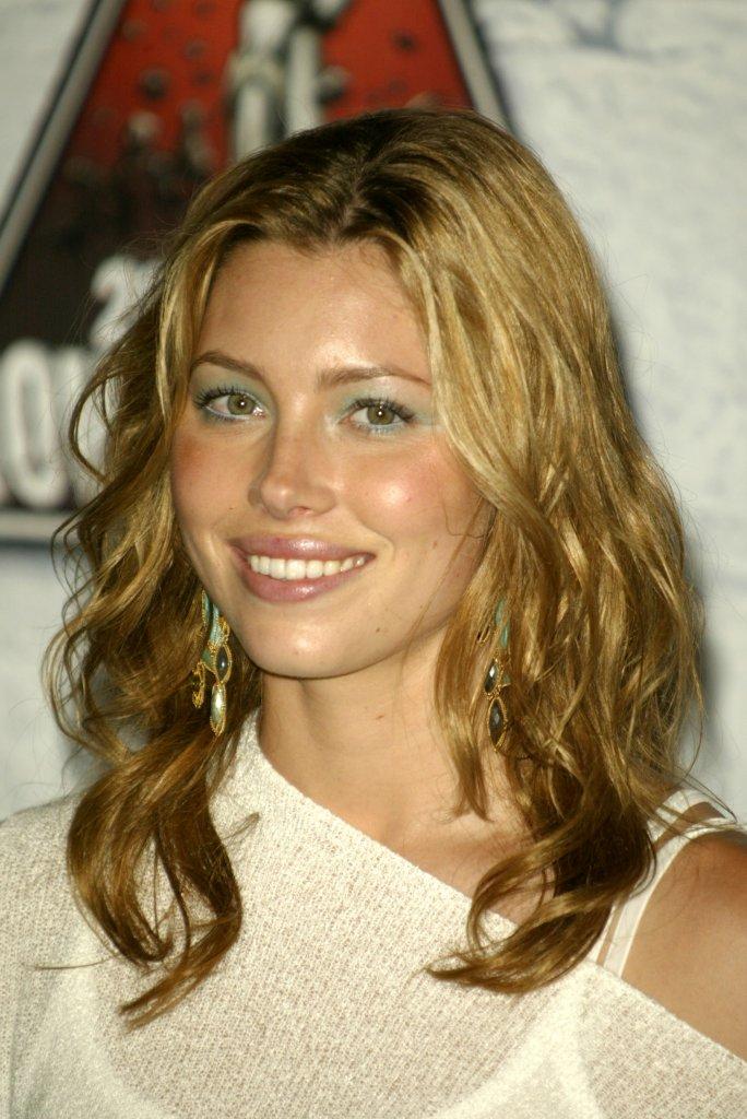 Jessica Biel blondynką