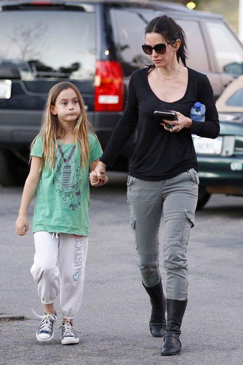 C�rka Courteney Cox to ju� du�a dziewczynka (FOTO)