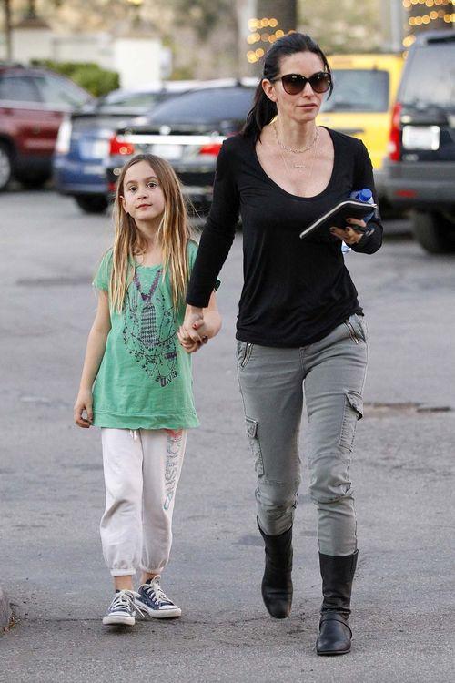 Córka Courteney Cox to już duża dziewczynka (FOTO)
