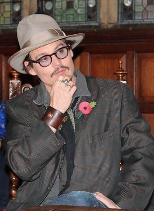 Johnny Depp jest ulubionym aktorem Amerykanów