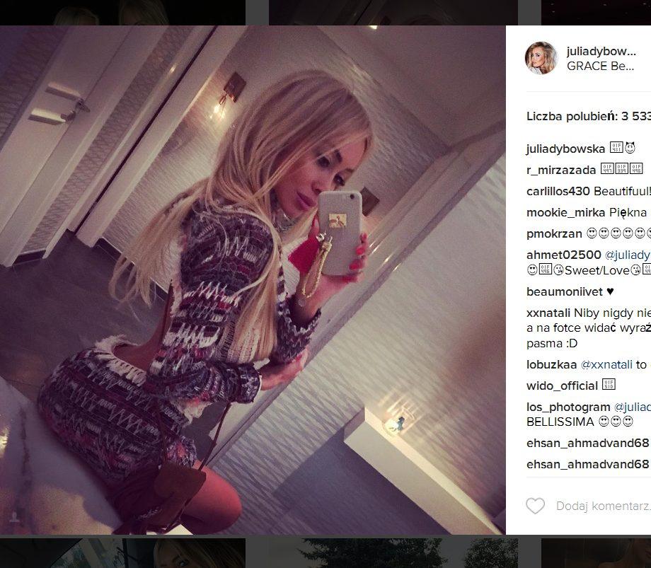 Co lubi Julia Dybowska? Instagram celebrytki to prawdziwe targowisko próżności